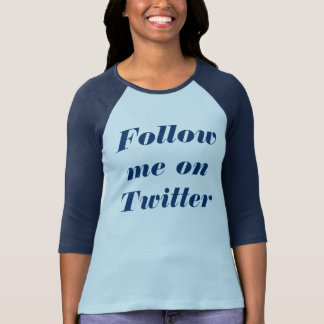 Follow-me auf Twitter T-Shirt