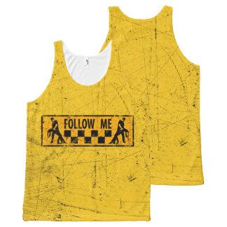 Follow me dancer komplett bedrucktes tanktop