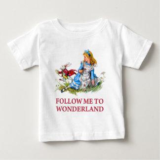 Follow-me - ich nehme Sie nach Märchenland! Baby T-shirt