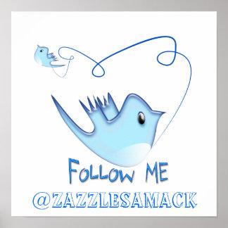 Follow-me Posterdruck