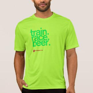 FOLLOW-ME ZU BIER laufender Technologie T T-Shirt