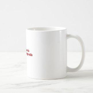 Follow-me zum Ramschverkauf Kaffeetasse