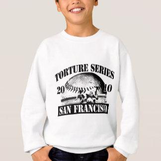 Folterungs-Reihen-Baseball San Francisco 2010 Sweatshirt