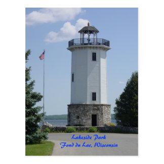 Fond du Lac Lighthouse Postkarte