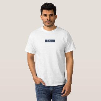 Fontaine Box Logo Blue T-Shirt