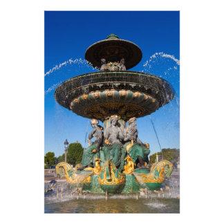 Fontaine des Fleuves Kunst Photo