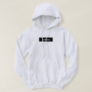 Fontaine Hoodie ,(Black)