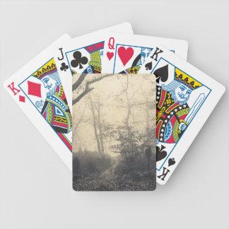 Fontainebleau-Wald Bicycle Spielkarten