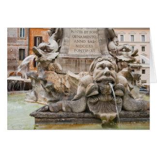 Fontana Del Pantheon (1575) entwarf durch Giacomo Karte