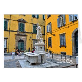 Fontana della Pupporona, Lucca, Italien Karte