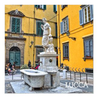 Fontana della Pupporona, Lucca, Italien Magnetische Karte