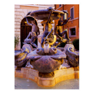 Fontana delle tartarughe postkarte