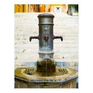 Fontana delle tre cannelle postkarte