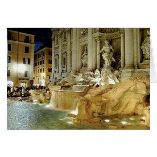 Fontana di Trevi Karte