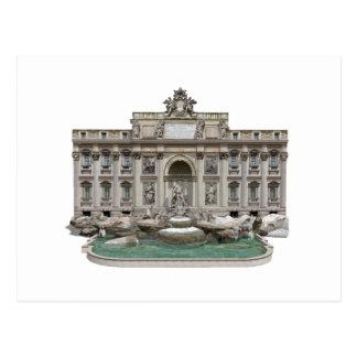 Fontana di Trevi: Trevi-Brunnen: Modell 3D: Postkarte