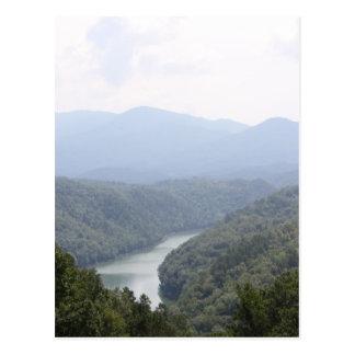 Fontana-Fluss Postkarte