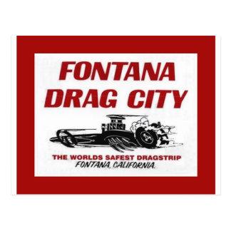 Fontana-Widerstand-Streifen Postkarte