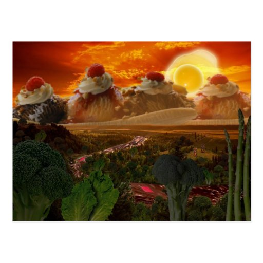 Foodscape Postkarte