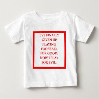 foosball baby t-shirt