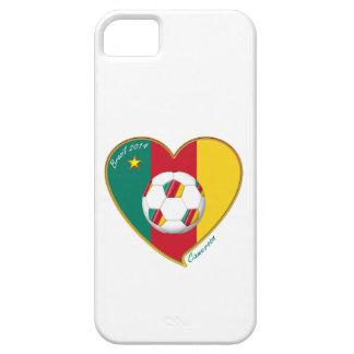 """Football """"CAMEROON"""" Soccer Team Fußball von Kameru iPhone 5 Schutzhülle"""