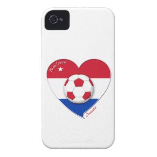 """Football """"CROATIA"""" Soccer Team Fußball Kroatien 20 iPhone 4 Case-Mate Hüllen"""