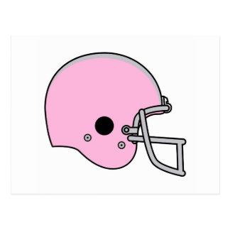Football-Helme Postkarte