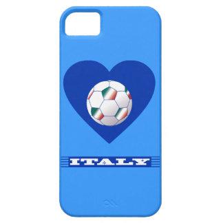 FOOTBALL Schal ITALY und Ball Fußball im Herzen iPhone 5 Etuis