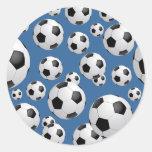 Football Soccer Balls Sticker