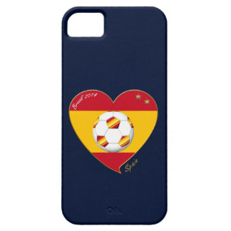 "FOOTBALL ""SPAIN"" Spanish Soccer Team FUSSBALL SPAN Etui Fürs iPhone 5"