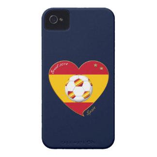 "FOOTBALL ""SPAIN"" Spanish Soccer Team FUSSBALL SPAN iPhone 4 Case-Mate Hülle"
