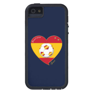 "FOOTBALL ""SPAIN"" Spanish Soccer Team FUSSBALL SPAN iPhone 5 Schutzhülle"