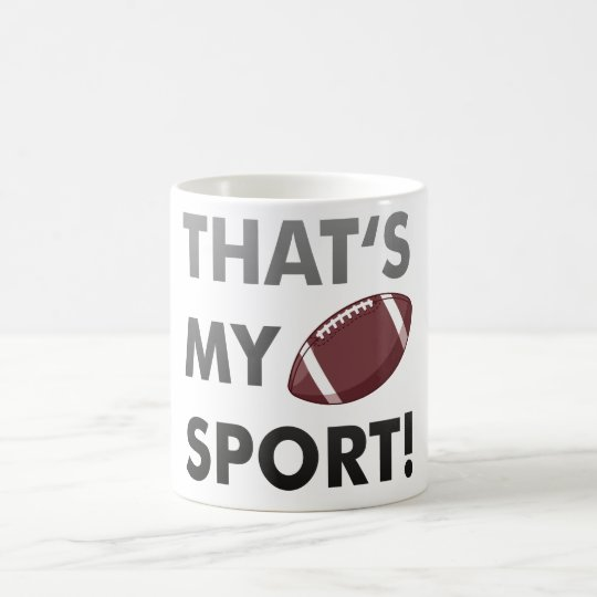 Football - thats's my sport! american football kaffeetasse