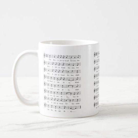 For he´s a jolly good fellow kaffeetasse
