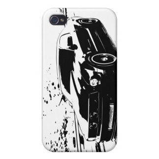 Ford-Mustang GT-Coupé Etui Fürs iPhone 4