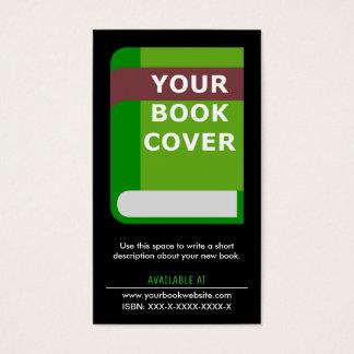 Fördernder Autor| Novelist der Lesezeichen-| Visitenkarte