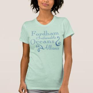 Fordham nachhaltiges Ozean-Bündnis T-Shirt