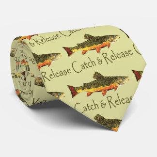 Forelle, die | Fang und Freigabe fischt Krawatte