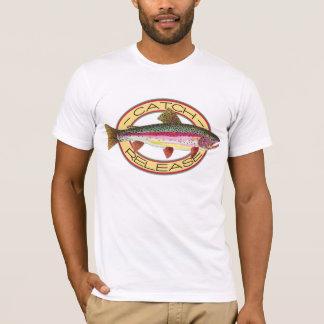 Forelle-Fang-u. Freigabe-Fischen T-Shirt