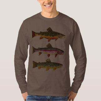 Forelle-Fischen Shirts