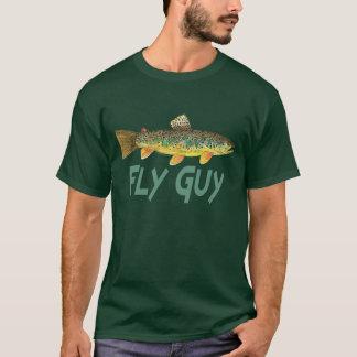 Forelle-Fliegen-Fischen T-Shirt