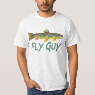 Forelle-Fliegen-Fischen Tshirts