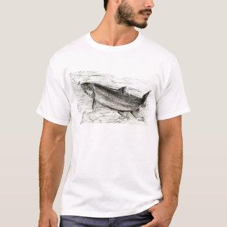 Forelle nimmt den Köder T-Shirt