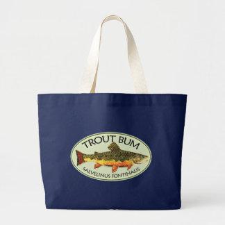 Forelle-wertlosfischen Jumbo Stoffbeutel