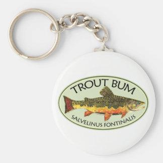 Forelle-wertlosfischen Schlüsselanhänger