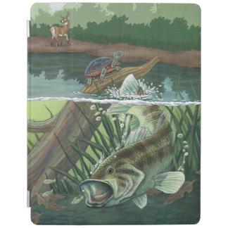Forellenbarsch-Fischen iPad Hülle
