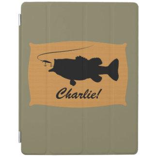 Forellenbarsch-Namenskundengerechtes iPad Hülle
