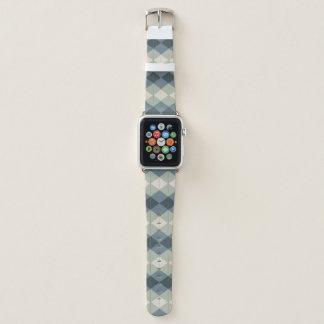 Forest Green-Diamant-Muster-Apple-Uhrenarmband Apple Watch Armband