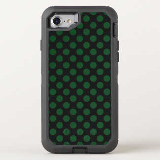 Forest Green-Tupfen OtterBox Defender iPhone 8/7 Hülle