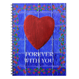 Forever with you spiral notizblock