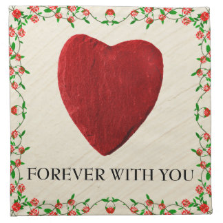 Forever with you stoffserviette